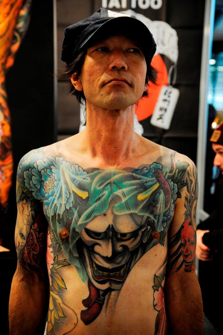 420 artistes tatoueurs issus de 30 pays différents ont été conviés au salon