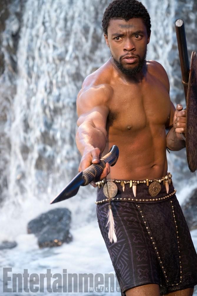 Chadwick Boseman est T'Challa, allias Black Panthère