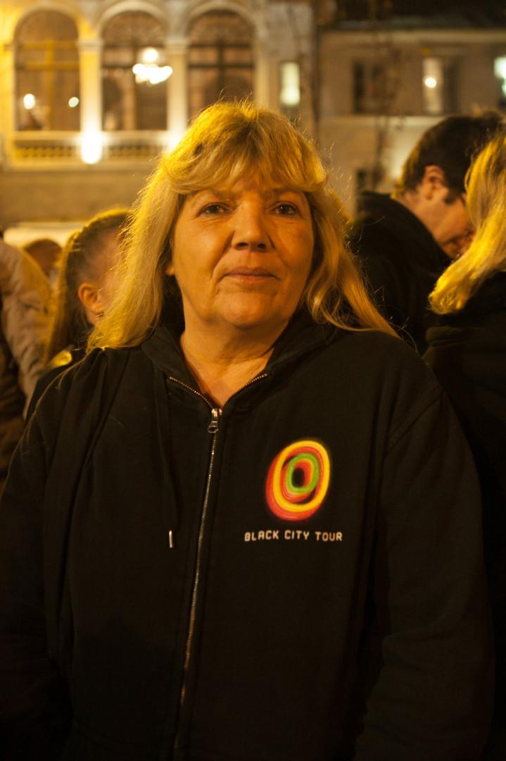 """Maryline, 53 ans, les suit """"depuis toujours"""" et les a vus pour la première fois sur le Alice & June Tour en 2007."""