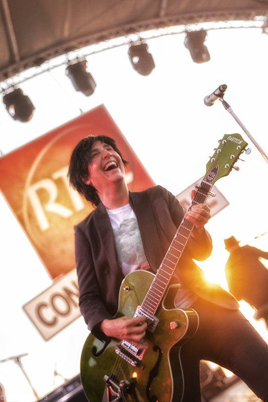Sharleen Spiteri du groupe Texas en Concert Très Très Privé RTL2 à Bordeaux