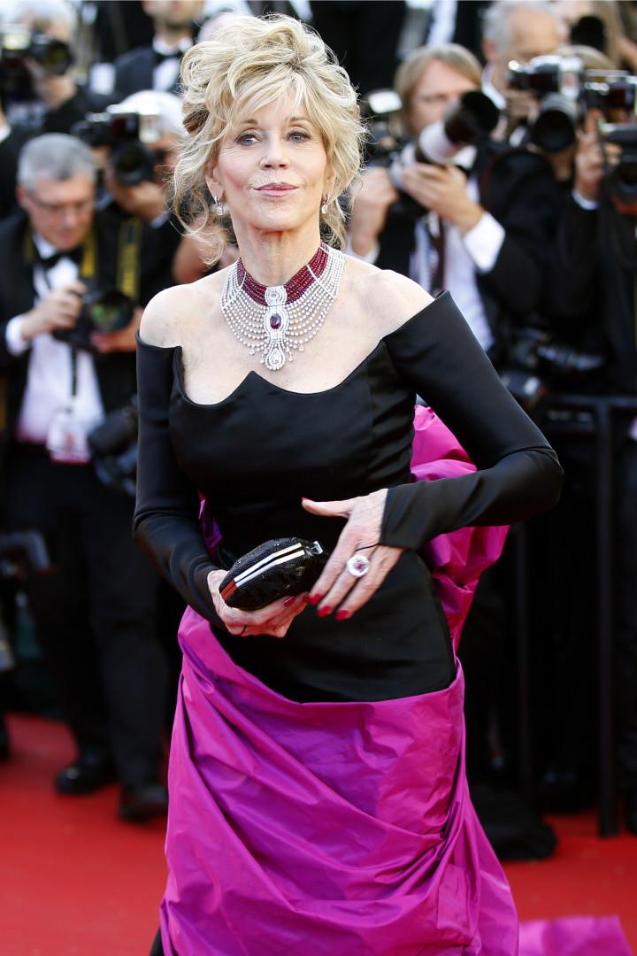 L'éternelle Jane Fonda sur le tapis rouge le 20 mai 2015