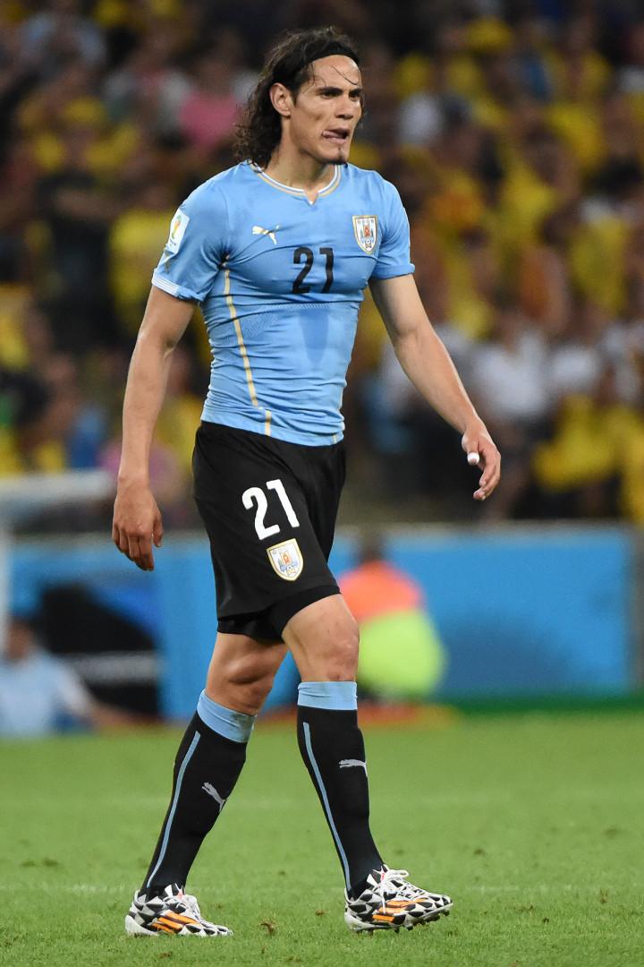 Edinson Cavani sera le patron d'un Uruguay privé de Luis Suarez