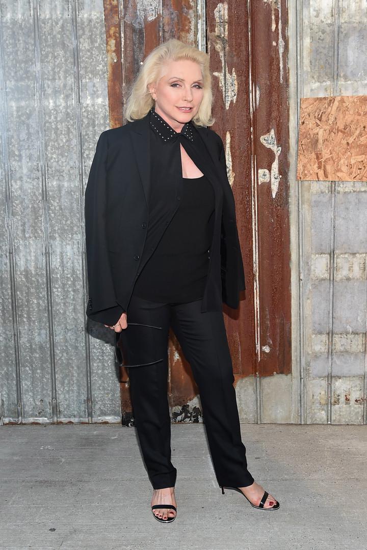 La chanteuse Debbie Harry, du groupe Blondie