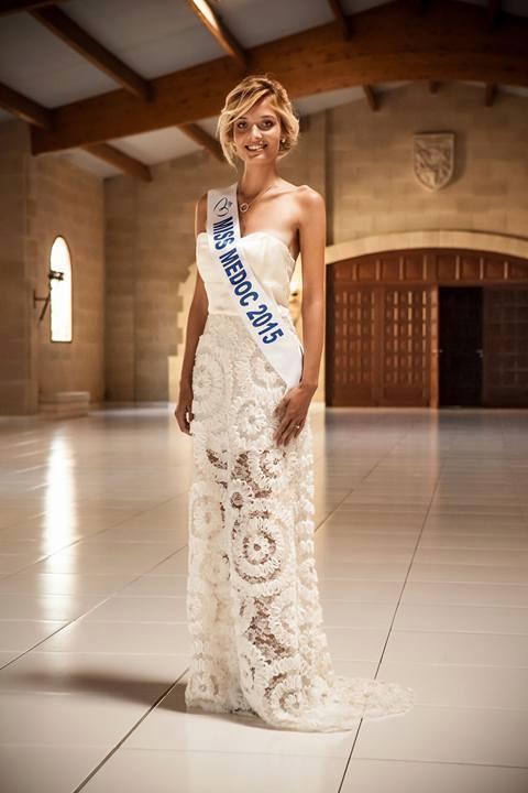 La jeune femme a été élue Miss Médoc en août