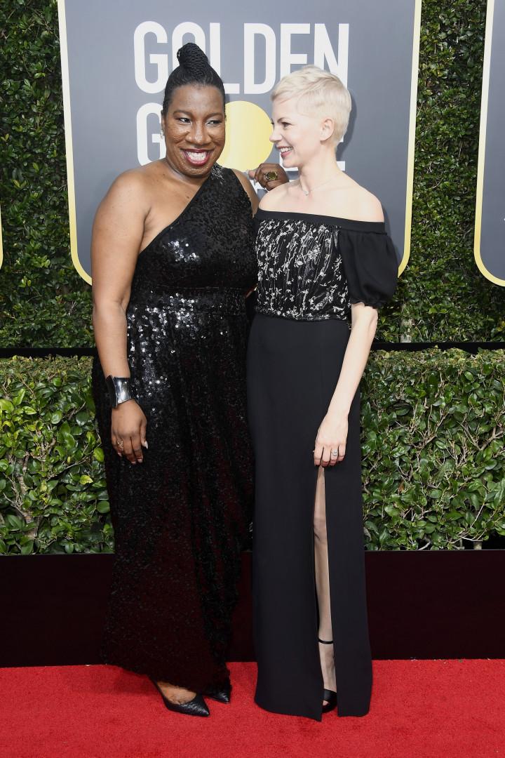 Michelle williams et la militante Tarana Burke