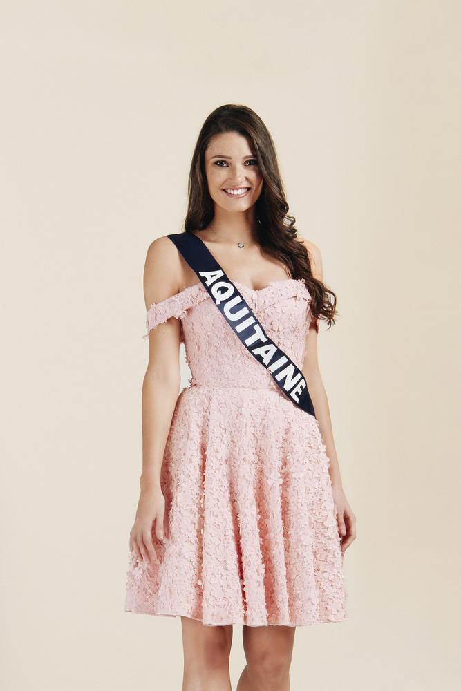 Justine Delmas, miss Aquitaine