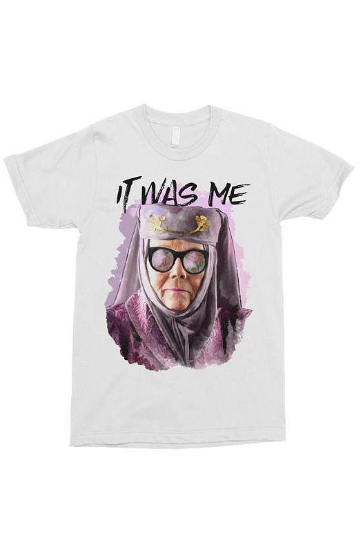 La célèbre réplique d'Olenna Tyrell dans la saison 7 a son T-shirt (21,50 dollars)