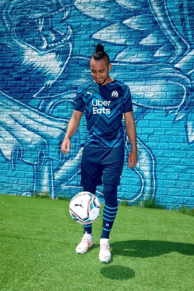 Le maillot extérieur de Marseille pour la saison 2021-2022
