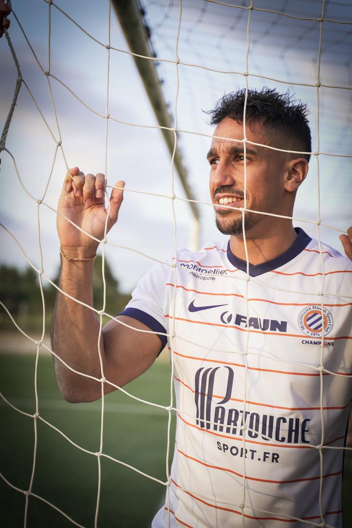 Le maillot extérieur de Montpellier pour la saison 2021-2022