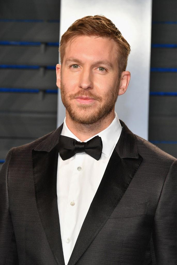Calvin Harris lors de la soirée de Vanity Fair après les Oscars en 2018.