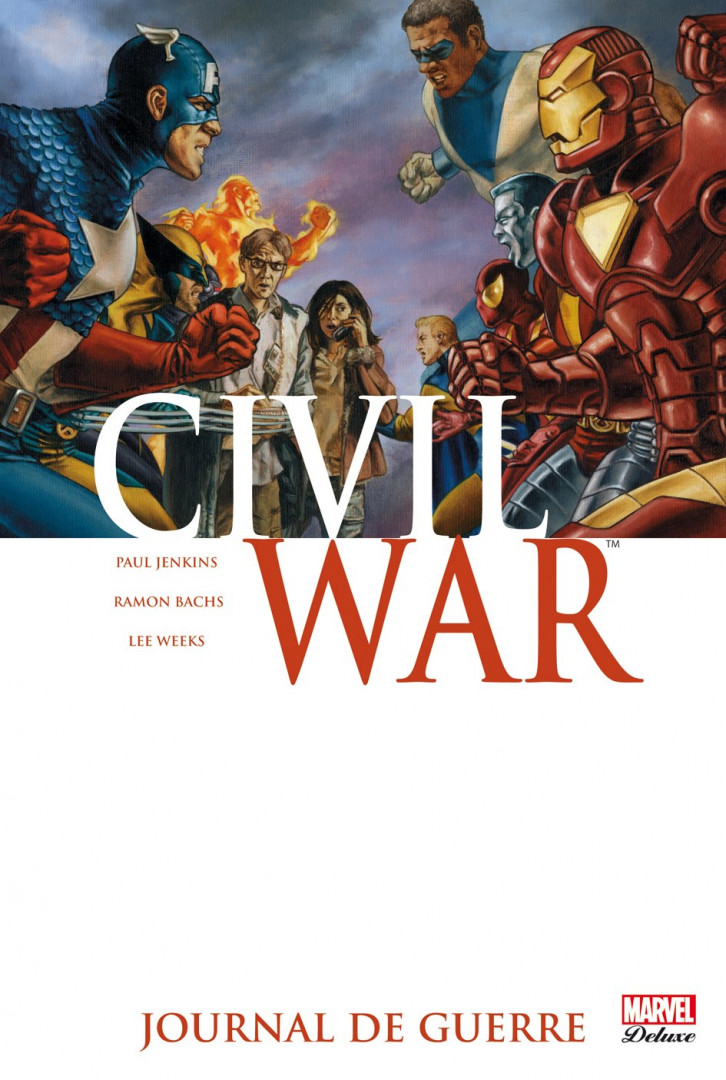 "Le coffret ""Civil War"" de Marvel, 255 euros sur Fnac.com"