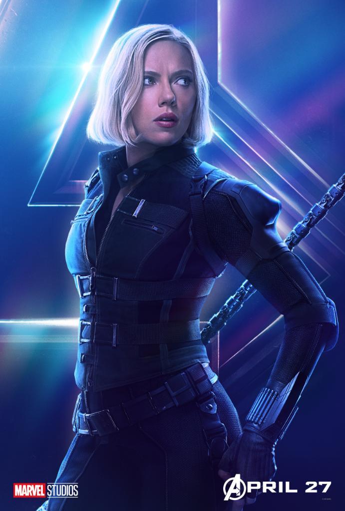 """Black Widow a changé de look, après les événements de """"Captain America : Civil War"""""""