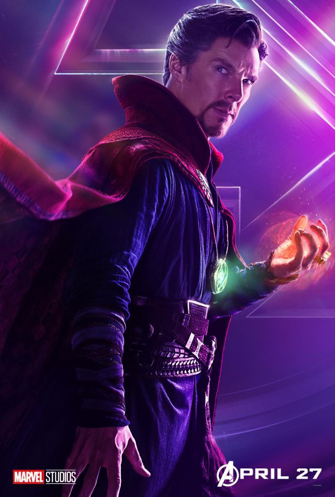 Docteur Strange possède la Pierre du Temps que convoite Thanos