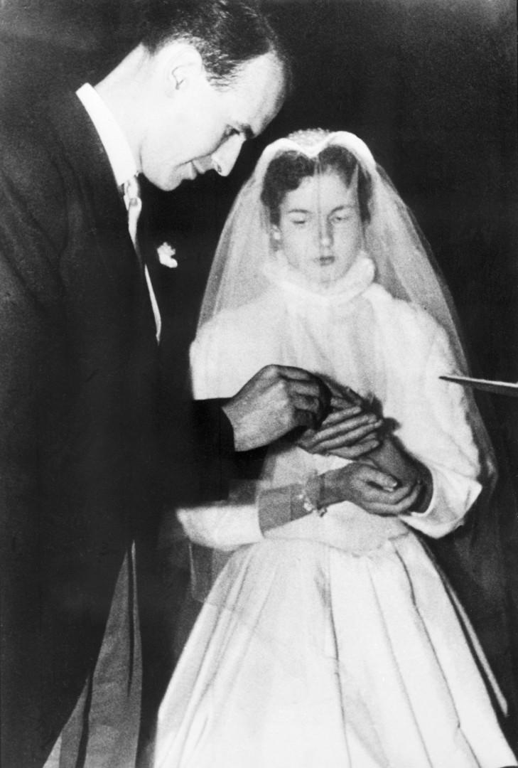 Le 17 décembre 1952 Valéry Giscard d'Estaing épouse Anne-Aymone Sauvage de Brantes
