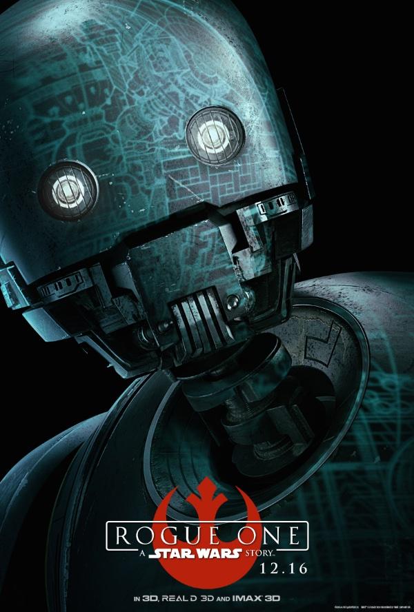 K-2SO est le fidèle compagnon de Cassian. Au départ, il est un droïde de l'Empire