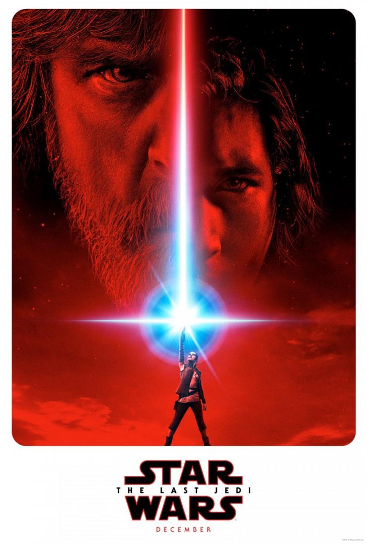 """La première affiche officielle de """"Star Wars 8"""""""