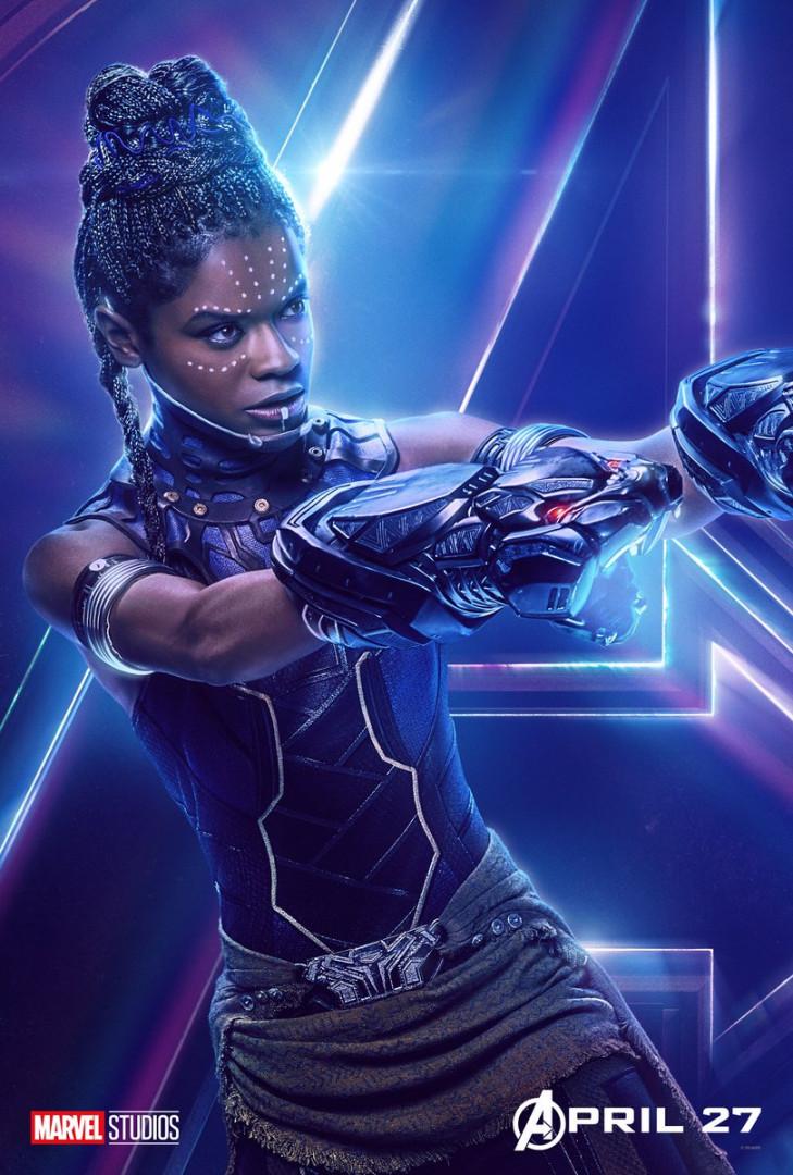 Shuri, petite sœur de Black Panther et excellente scientifique