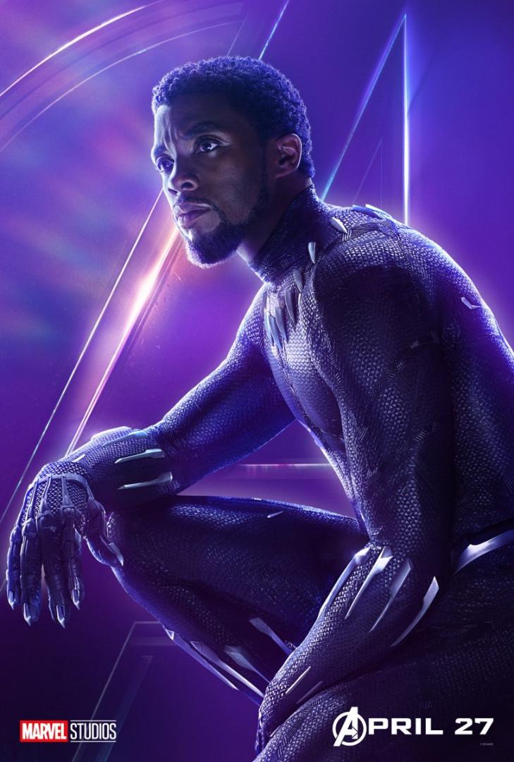 Black Panther est le roi du Wakanda où se déroulera une importante bataille dans le film