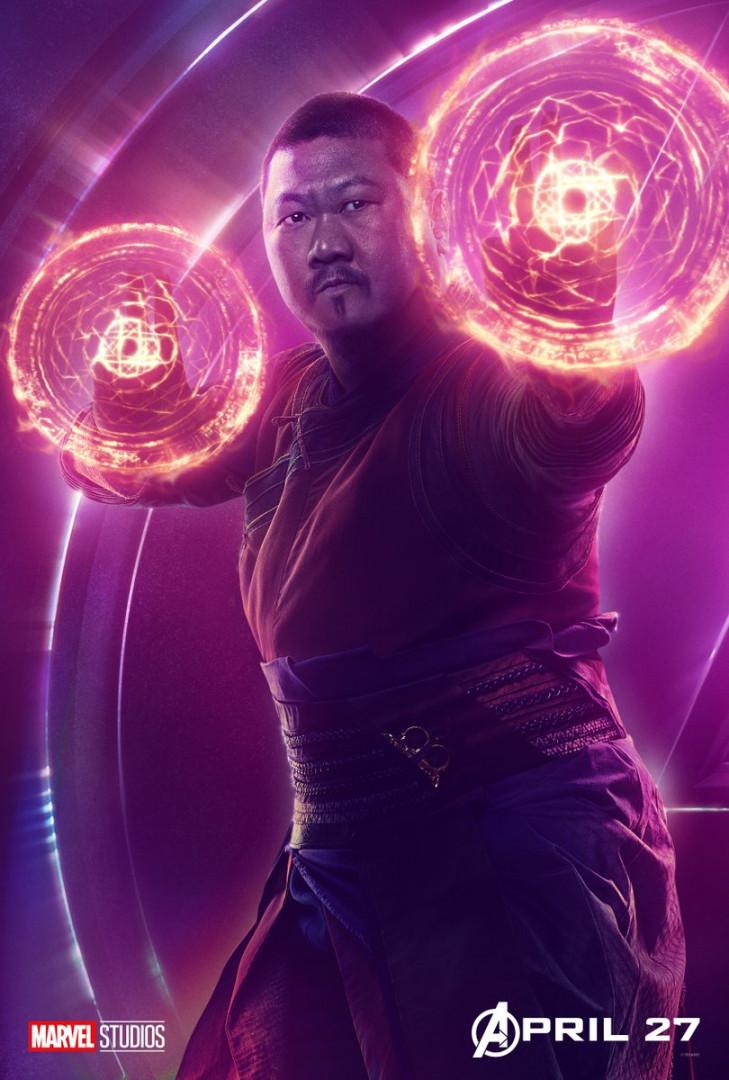 Wong est le compagnon de Doctor Strange