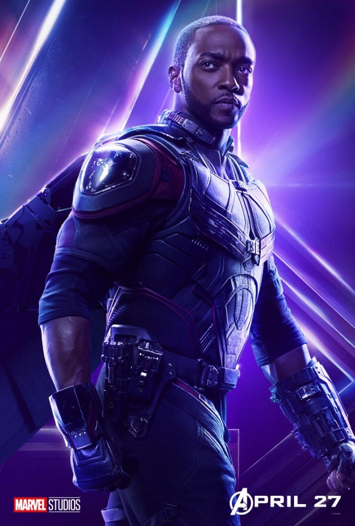 Le Faucon est l'un des proches de Captain America