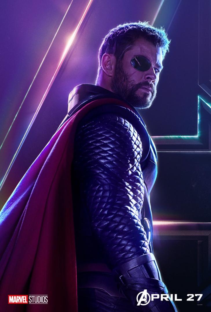 """Depuis """"Thor : Ragnarok"""", Thor a perdu son œil"""