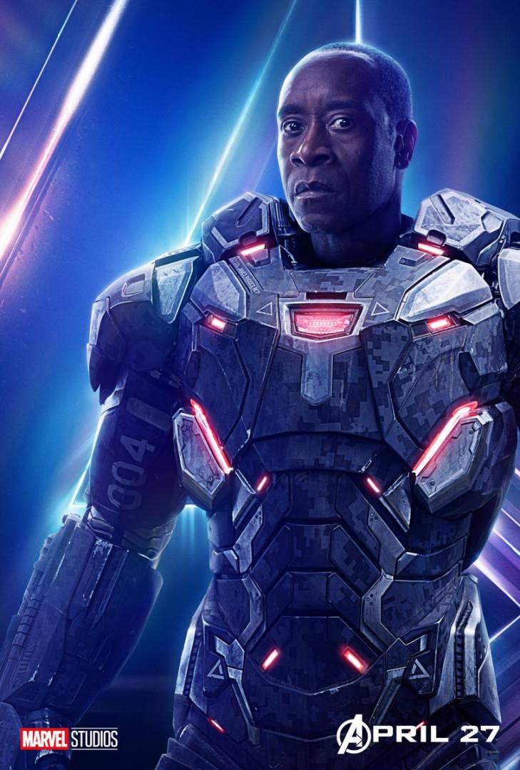"""War Machine est rétabli de ses blessures qui le paralysait à la fin de """"Captain America : Civil War"""""""