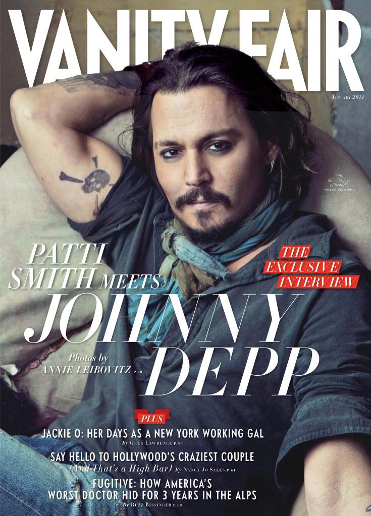 Johnny Depp, janvier 2011