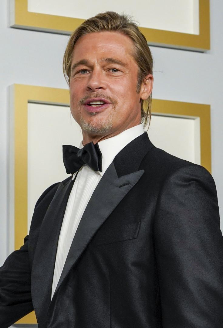 Brad Pitt aux Oscars en 2021