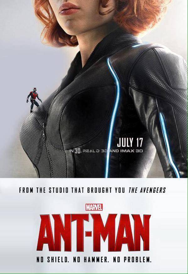 """Une affiche de fan pour """"Ant-Man"""""""