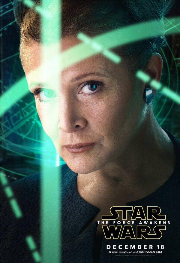 La princesse Leia est l'un des personnages mythiques de retour dans la saga