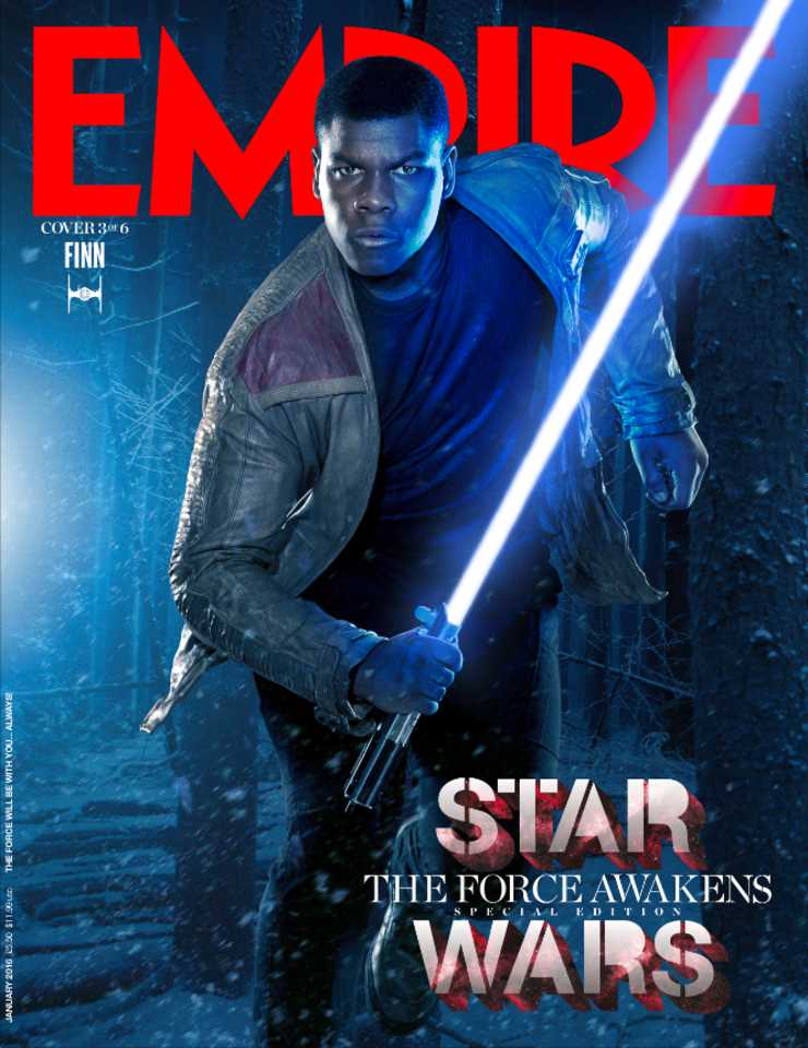 Finn, le Stormtrooper rebelle.