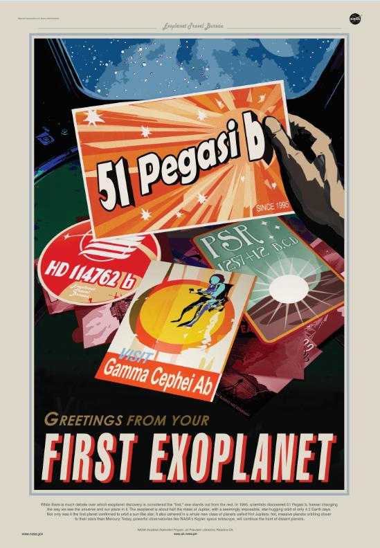 Il y a de nombreux débats quant à quelle planète a été découverte en première. Cependant, une planète se démarque dans la liste : Pegasi b, découverte en 1995