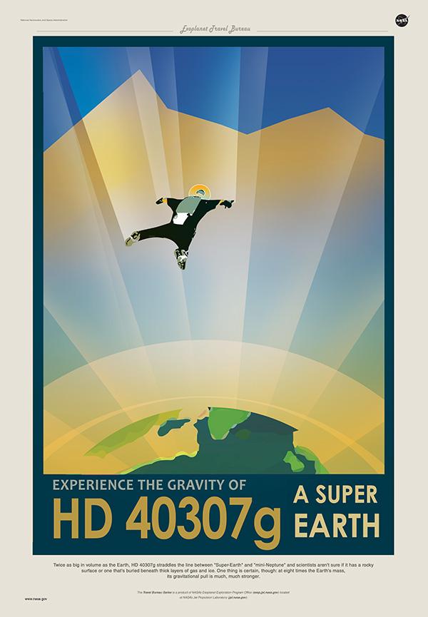"""HD 40307g est deux fois plus grosse que notre planète, ce qui lui vaut les surnoms de """"Super-Earth"""" ou """"Mini-Neptune"""""""