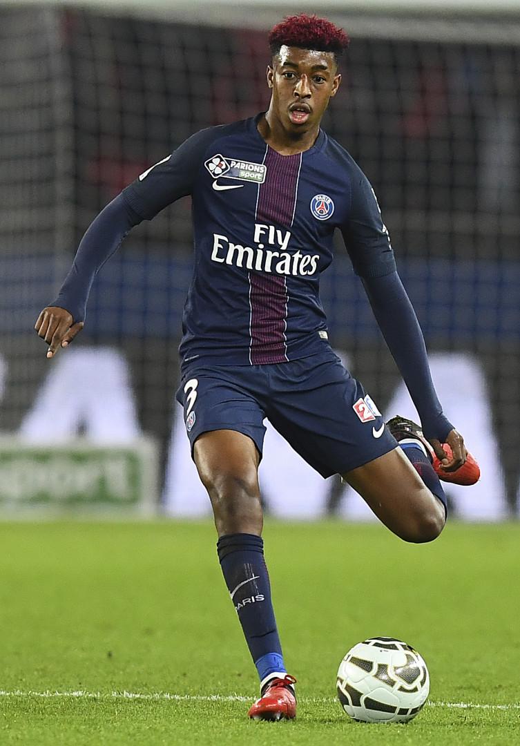 Presnel Kimpebe, 21 ans, défenseur du Paris Saint-Germain