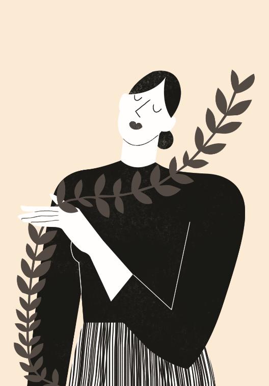 """""""Soror"""" est un """"mook indépendant"""" de portraits et d'entretiens au féminin, illustré par Mathilde Bel"""