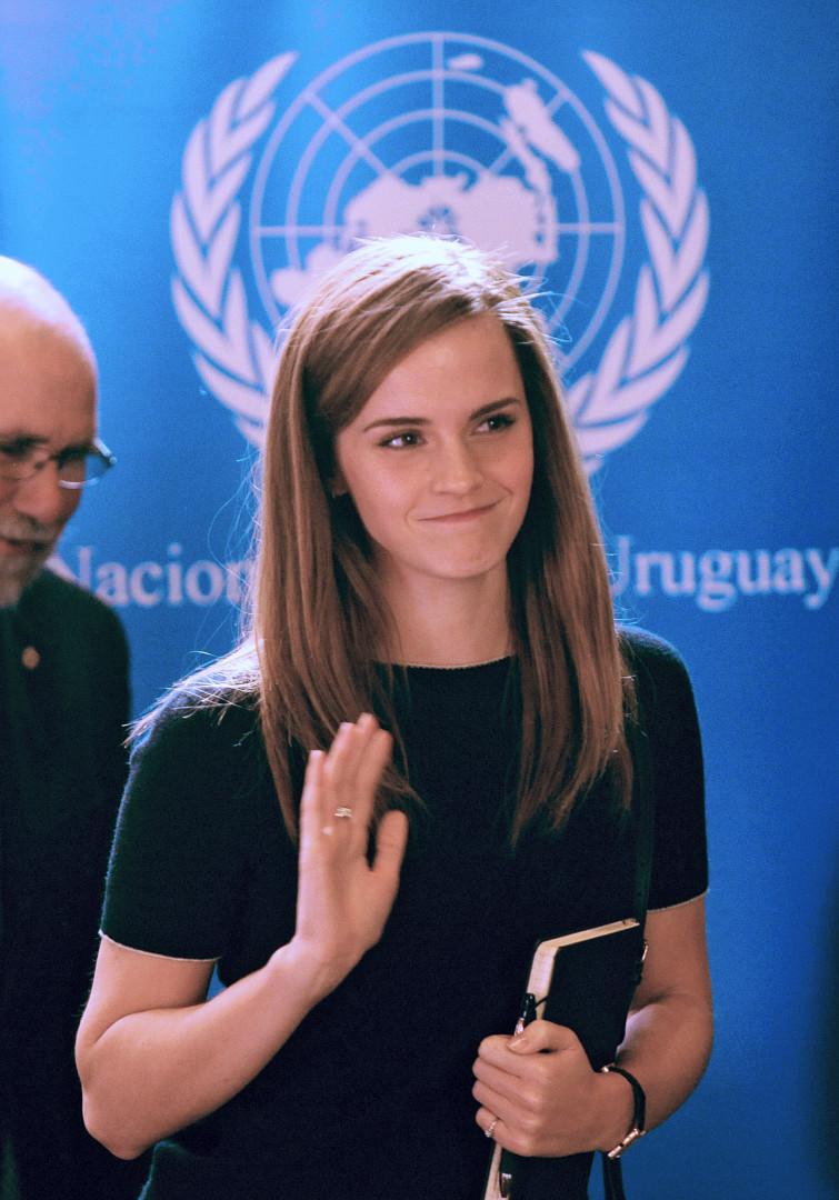 Emma Watson est depuis juillet 2014 ambassadrice pour les droits des femmes pour l'ONU