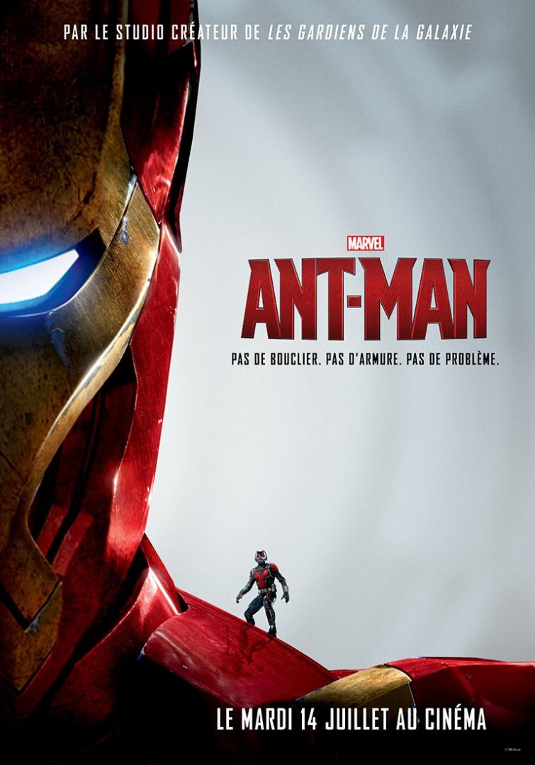 """La nouvelle affiche officielle de """"Ant-Man"""""""