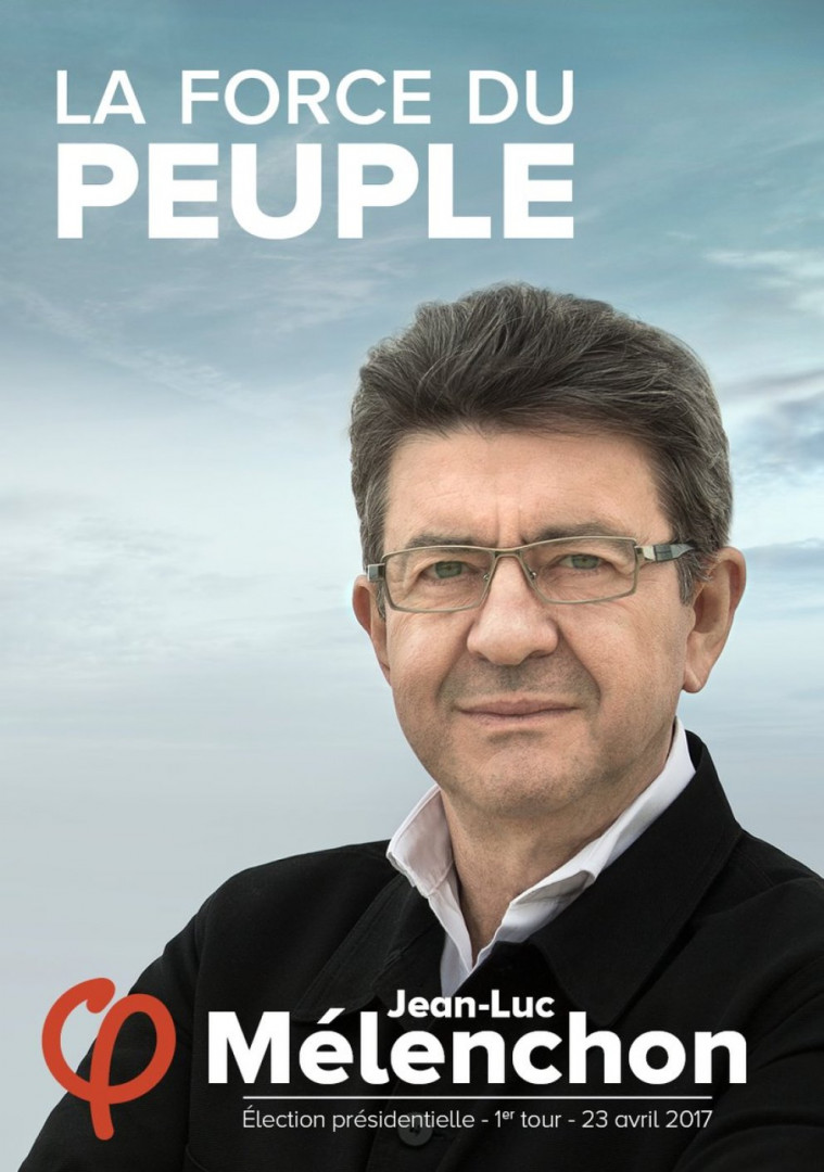 L'affiche de Jean-Luc Mélenchon