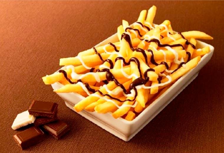 Au Japon, le Mac Do a créé des frites au chocolat