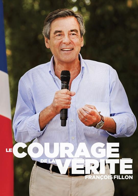 L'affiche de campagne de François Fillon