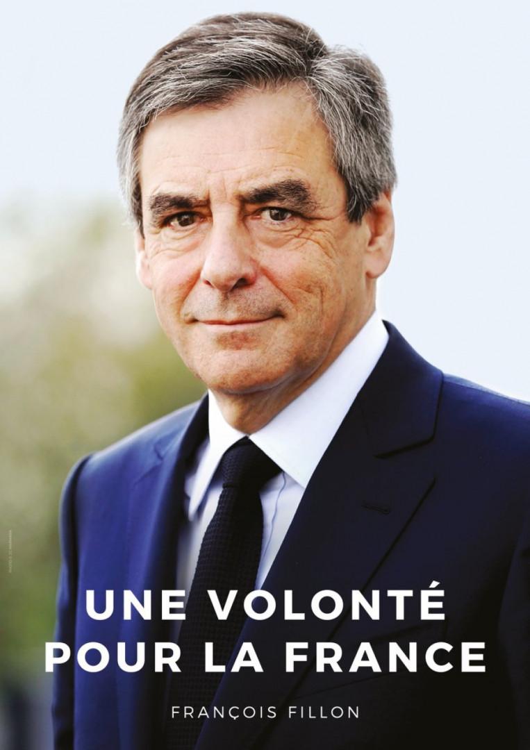 L'affiche de François Fillon