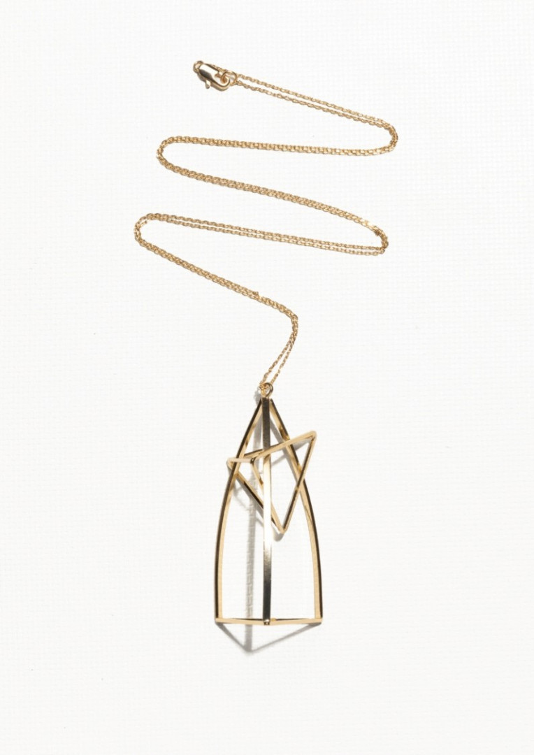 Pendentif cage, & Other Stories, 35 euros