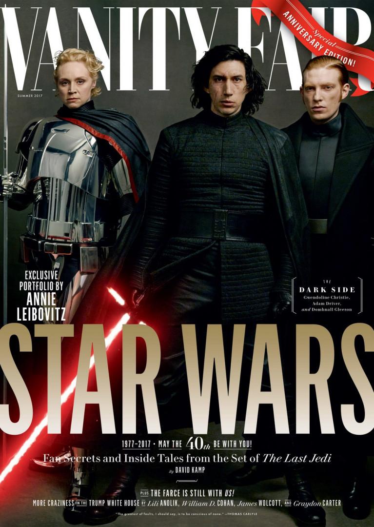 """Le côté obscur de la Force a droit à sa une de Vanity """"Fair"""""""