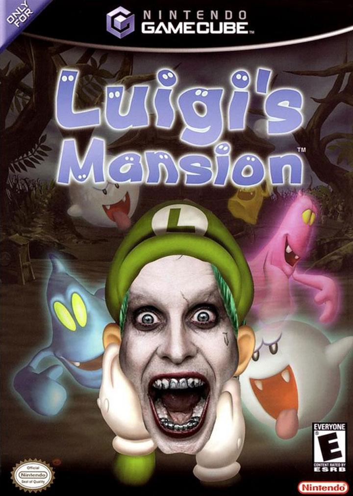 """À la place de Luigi dans le jeu vidéo """"Luigi's Mansion"""""""