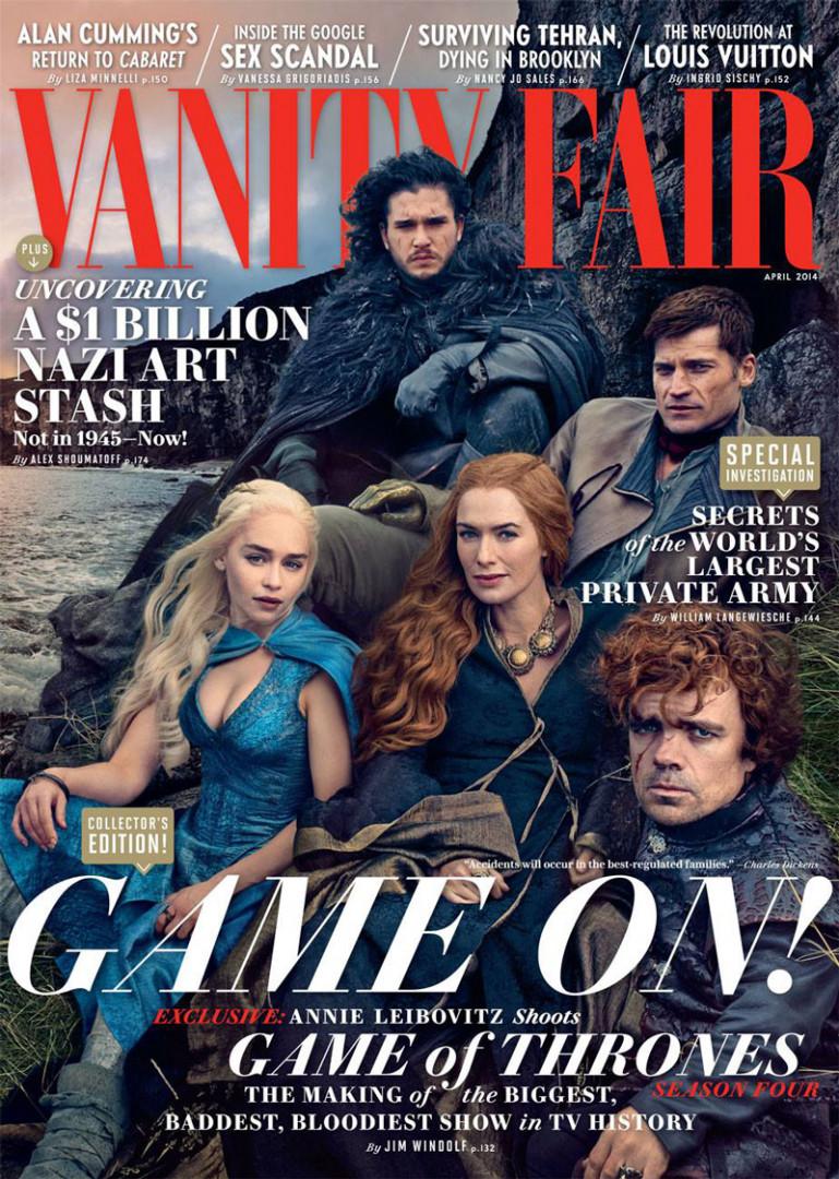 """Les acteurs de """"Game of Thrones"""", avril 2014"""