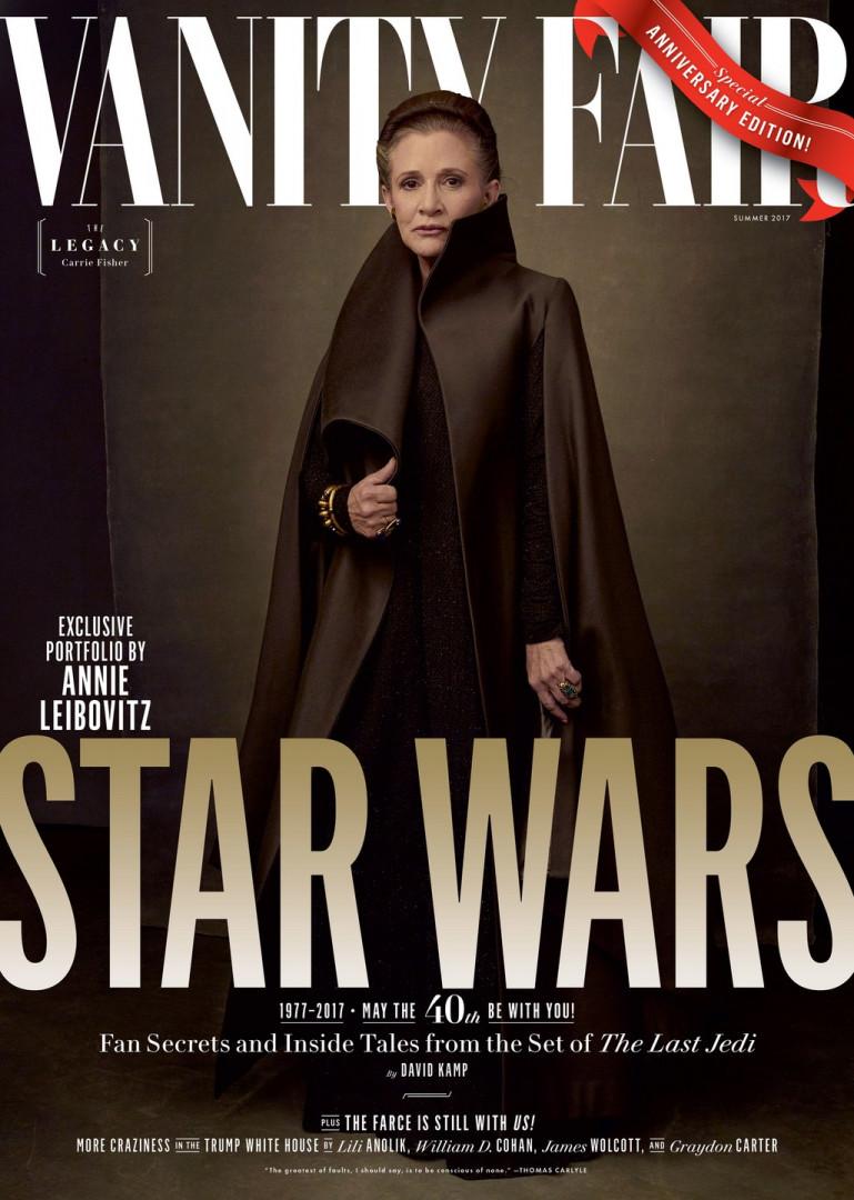 Leia Organa a droit à sa propre couverture