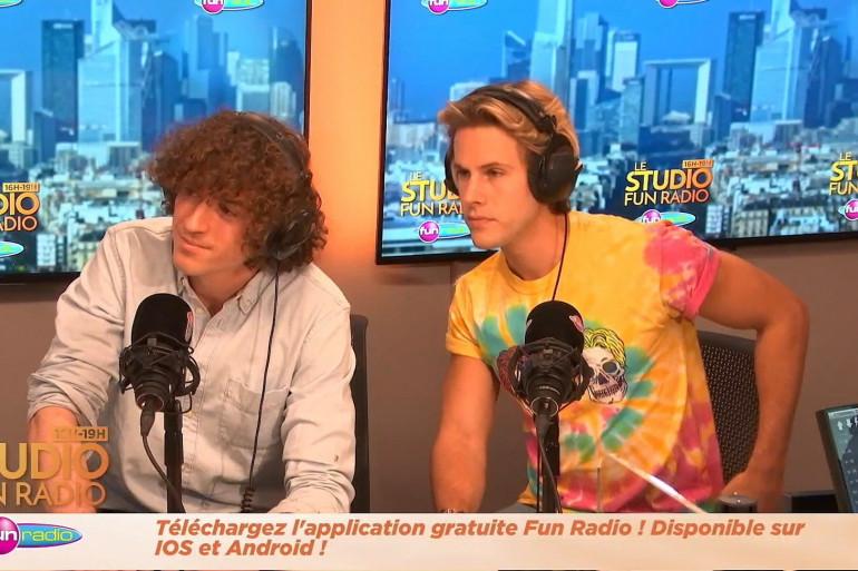 Les Ofenbach en interview sur Fun Radio
