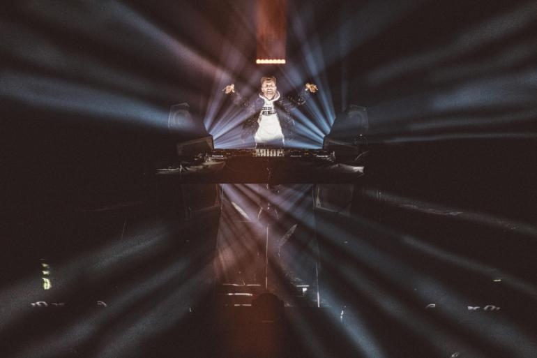 David Guetta en mix à Fun Radio Live Stream Experience