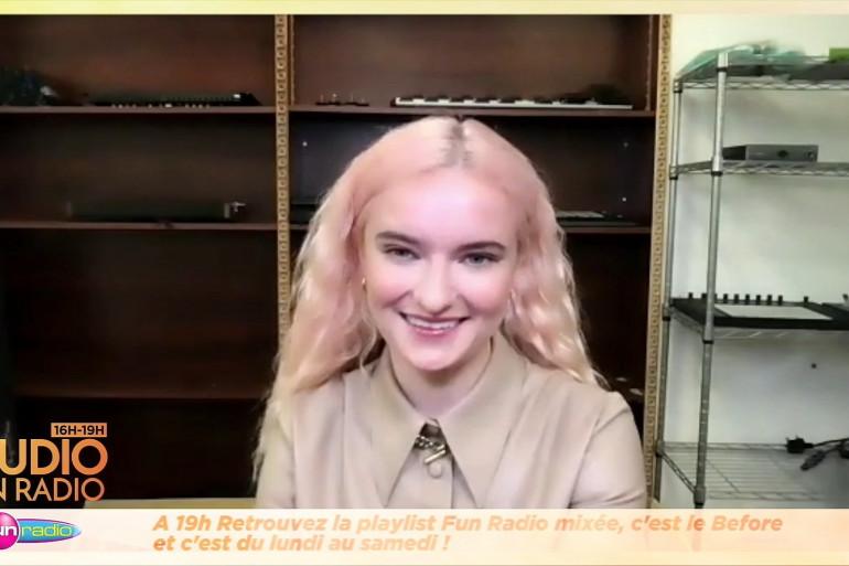 Grace Chatto (Clean Bandit) en interview dans Le Studio Fun Radio