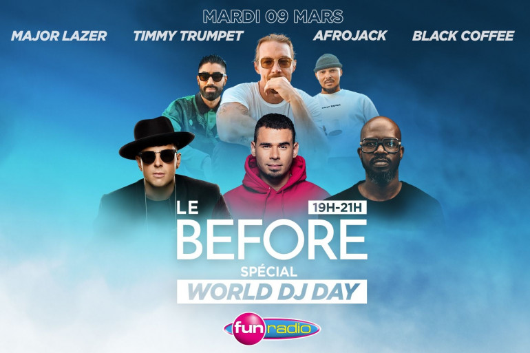 Le Before spécial World DJ Day